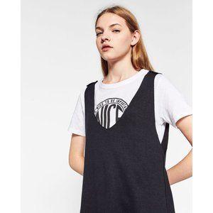 ZARA  INTERIOR T-SHIRT DRESS